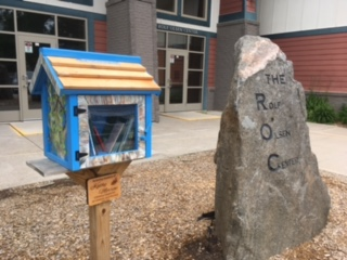 Rolf Olson Center - Little Free Library